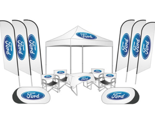 Gazebo and banners combo on request